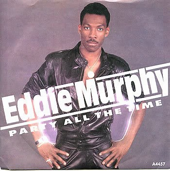 Eddie Murphy and his 'stache.