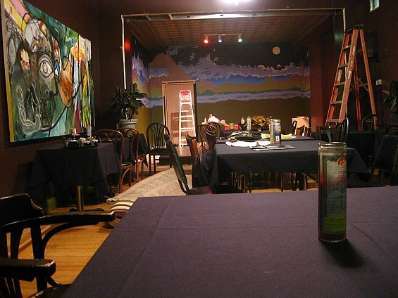 The Maya Cafe venue. - GRACE WOODARD