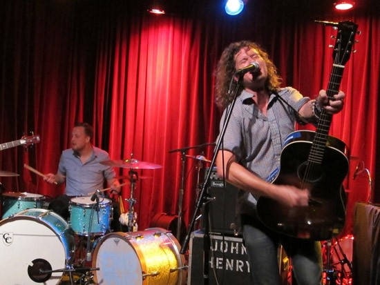 John Henry & the Engine performs at the Open Highway Music Festival in August. - ROY KASTEN