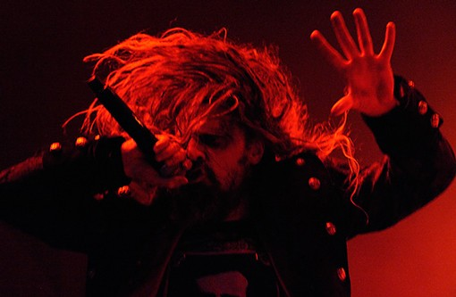 Rob Zombie last night at the Pageant. See more photos from last night's show. - PHOTO: TODD OWYOUNG