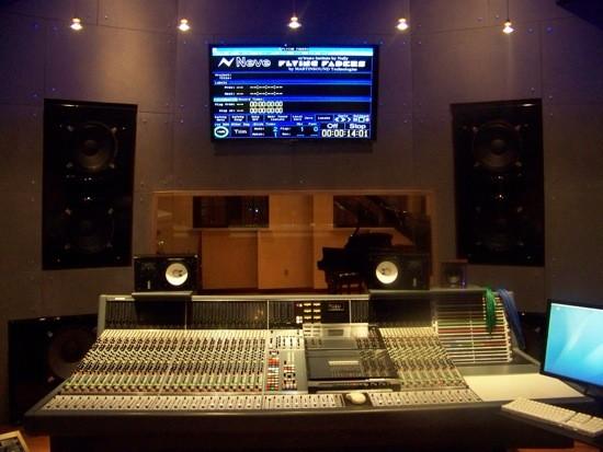The Control Room at Ex'treme Institute. - CALVIN COX