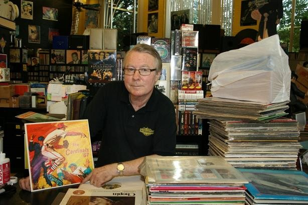 Jean Haffner of the Record Exchange - JON SCORFINA
