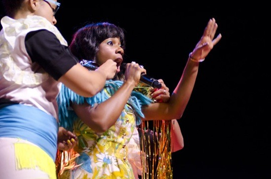 SANTIGOLD AT THE PAGEANT. PHOTO BY KHOOLOD EID