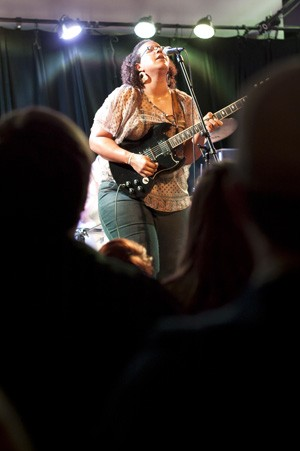 Brittany Howard of Alabama Shakes. - KHOLOOD EID