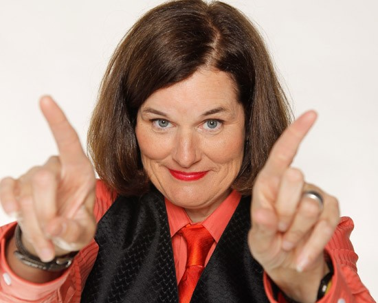 Paula Poundstone to appear at the Sheldon Concert Hall. - PRESS PHOTO