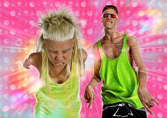 Most awesome press photo ever: Die Antwoord - October 18 @ the Pageant