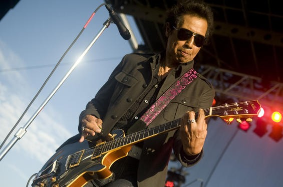 Alejandro Escovedo at LouFest. More photos from day two here. - JON GITCHOFF