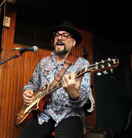 Jimmy Vivino, taken April 3, 2010 - PHOTO BY BERNARD ENTE