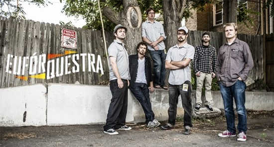 Euforquestra will perform at the Great Totem Festival. - PRESS PHOTO