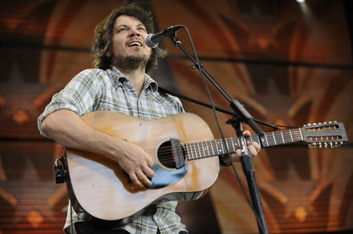 Jeff Tweedy of Wilco. See more photos from Farm Aid. - PHOTO: TODD OWYOUNG