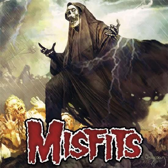 MISFITS ALBUM COVER