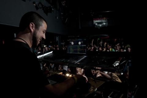 DJ Mahf in Denver last weekend. - PHOTO COURTESY OF RED BULL