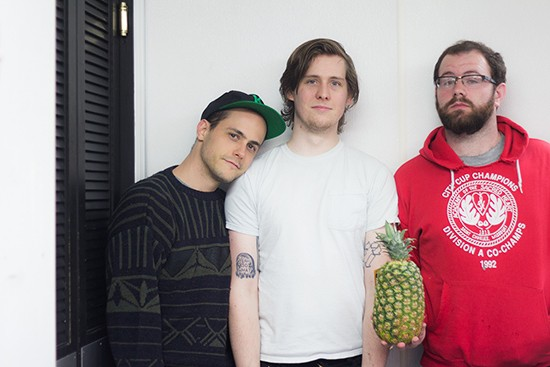 Pü Fest curators Mike Herr, Luc Michalski and Pat Boland. - MABEL SUEN