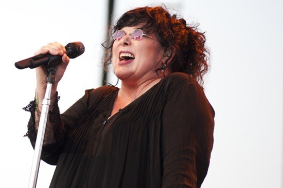 Ann Wilson of Heart at Fair St. Louis in 2012. - KHOLOOD EID