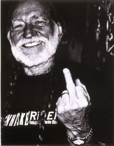 Willie Nelson: pretty awesome.