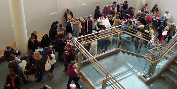 Swap-O-Rama-Rama gets underway again this year from noon to 4 p.m. on Saturday at the Missouri History Museum.