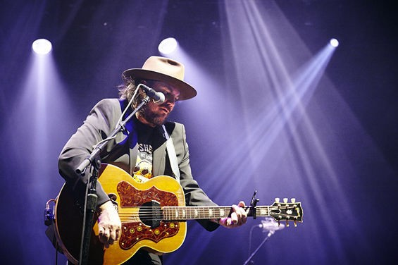 Wilco performing live at LouFest - STEVE TRUESDELL