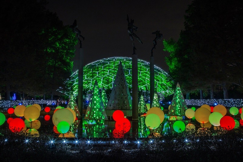 The Garden is illuminated and ready for visitors. - COURTESY OF MISSOURI BOTANICAL GARDEN