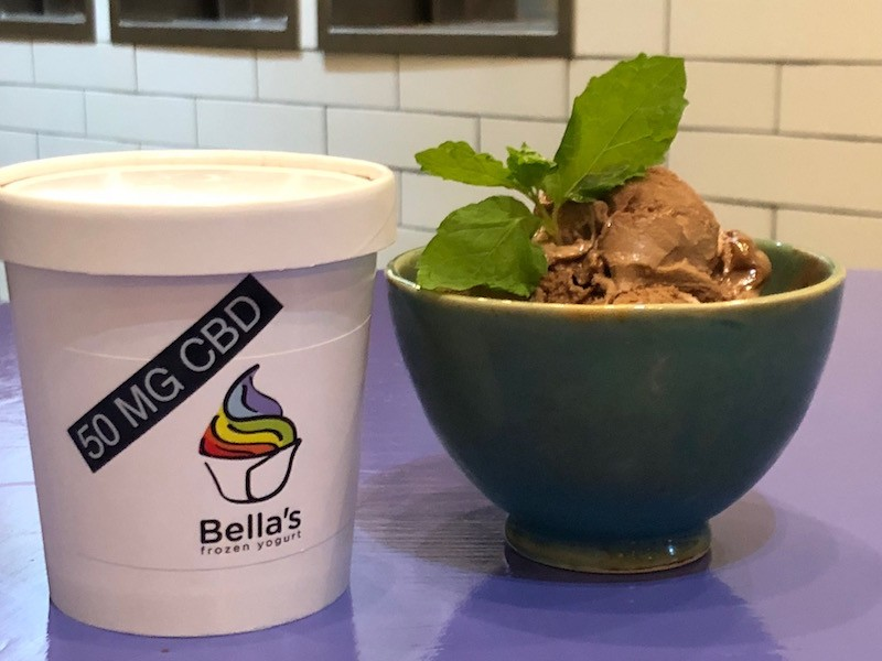 Pints will retail for $25, nearly twice as much as Bella's usual $14, but a bargain for CBD lovers. - COREY JAMES
