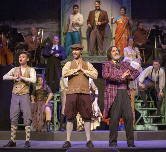Stray Dog brings double the fun with The Mystery of Edwin Drood. - JOHN LAMB