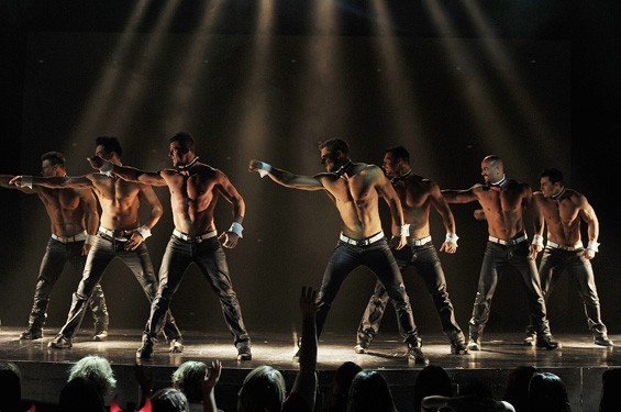 The Chippendales. Yes, this is still a thing. - PHOTO BY DENISE TRUSCELLO