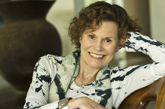 The one, the only ... Judy Blume - PHOTO COURTESY OF ELENA SEIBERT