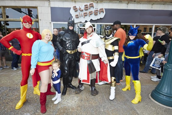 Free Comic Book Day! What's not to love? - PHOTO BY THEO WELLING