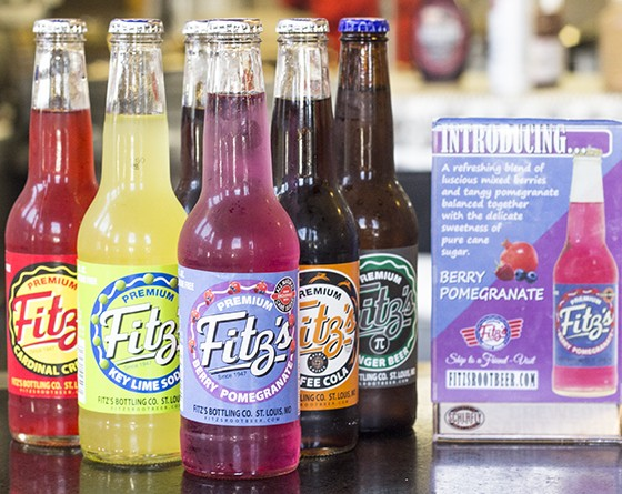 A selection of Fitz's sodas.