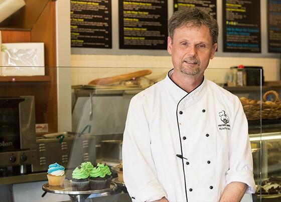 Chef-owner Kristian Vesth.