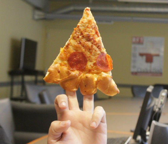 Remove the hot dogs, and a slice makes a handy finger puppet. - PHOTO BY SARAH FENSKE
