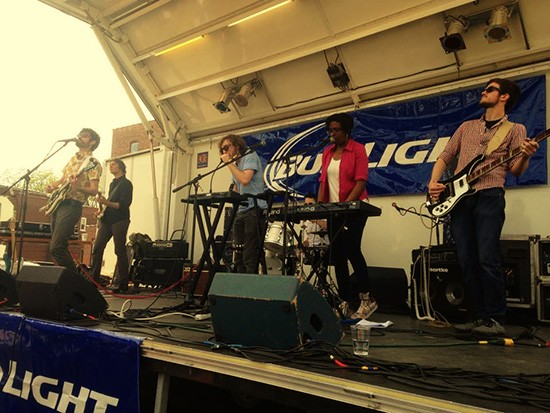 Catch Whoa Thunder at the 2015 RFT Music Showcase: Layla at 8 p.m. - PHOTO BY LORI RITTER.