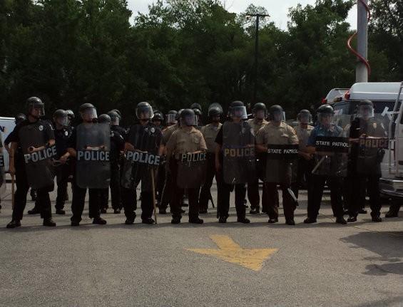 August 11, 2014. Ferguson. - JESSICA LUSSENHOP