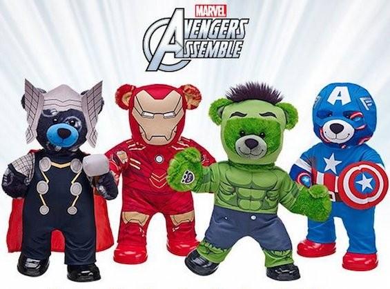 "Natasha Romanoff (""Black Widow"") isn't part of Build-A-Bear's Avengers group. - BUILD-A-BEAR ON FACEBOOK"