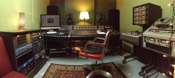Mound Sound Studio, founded by Troubador Dali frontman Ben Hinn. - COURTESY OF MOUND SOUND STUDIO