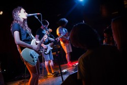 Speedy Ortiz at the Firebird. - DEREK SCHWARTZ