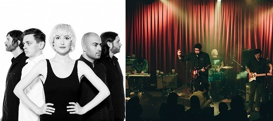 July Talk, left, and Bo & the Locomotive, right, will perform together Tuesday, June 16 at Off Broadway. - JULY TALK PHOTO PROVIDED BY THE BAND, BO & THE LOCOMOTIVE PHOTO BY ABBY GILLARDI