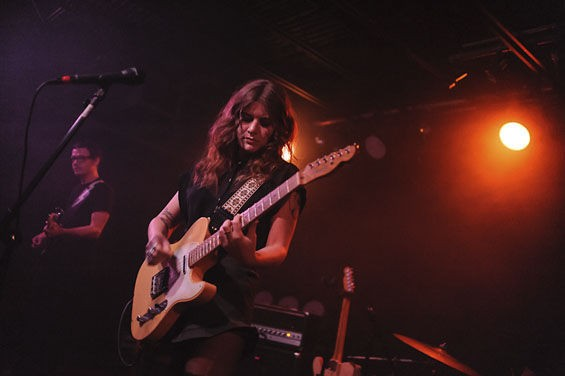 Best Coast returns to St. Louis this Wednesday at the Ready Room. See more photos from its 2012 show at the Firebird in RFT Slideshows. - PHOTO BY JASON STOFF
