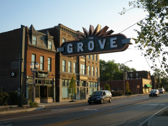 The Grove has become the city's hottest neighborhood for nightlife -- to the chagrin of some residents. - PHOTO COURTESY OF FLICKR/PAUL SABLEMAN