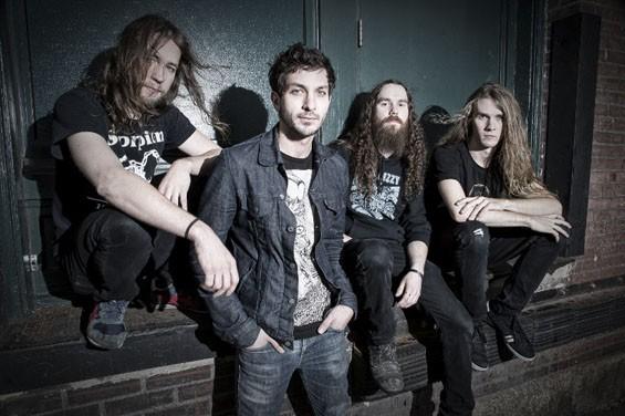 The members of Black Fast: Trevor Johanson, Ryan Thompson, Ross Burnett and Aaron Arkin. - COURTESY OF THE BAND
