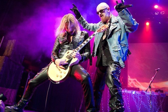 Judas Priest will perform at Stifel Theatre on Monday, June 3. - JON GITCHOFF