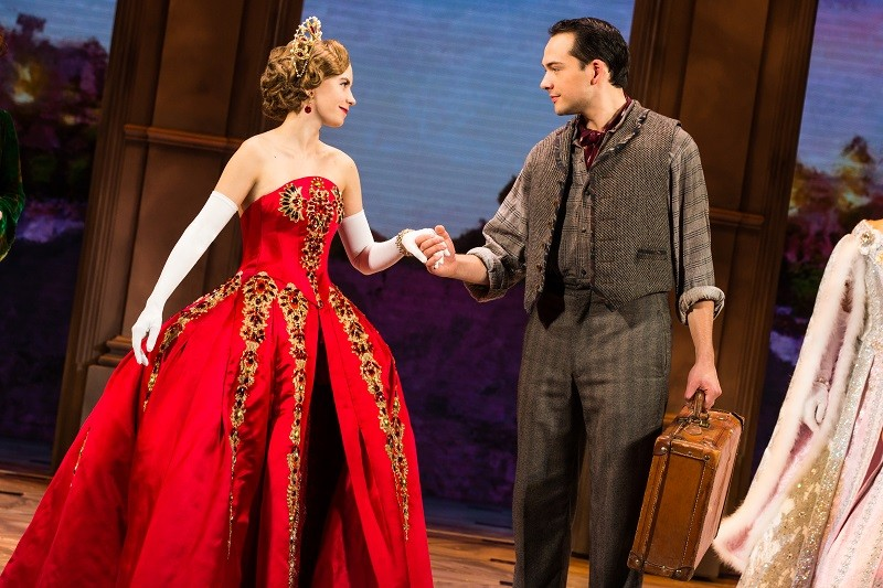 Anastasia, a new musical about a possible surviving daughter of the last Czar, floats into town. - EVAN SIMMERMAN, MURPHYMADE