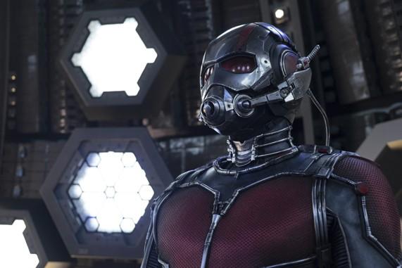 Ant-Man awaits word on sequel: Uncle-Man. - © 2015 MARVEL STUDIOS/DISNEY ENTERPRISES