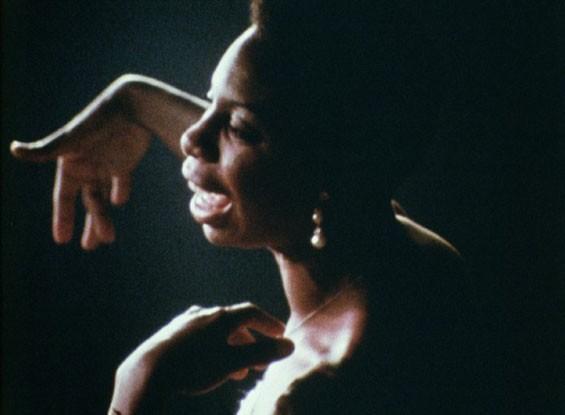 The jazz great Nina Simone. - COURTESY OF THE SUNDANCE INSTITUTE