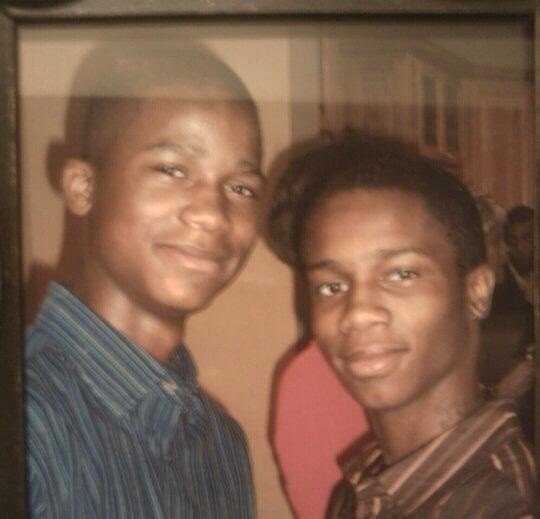 Damonte and Dorian Johnson - COURTESY DAMONTE JOHNSON