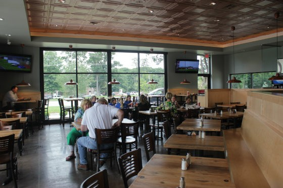 The interior of the new Lion's Choice in Ellisville, Missouri. - EMILY MCCARTER