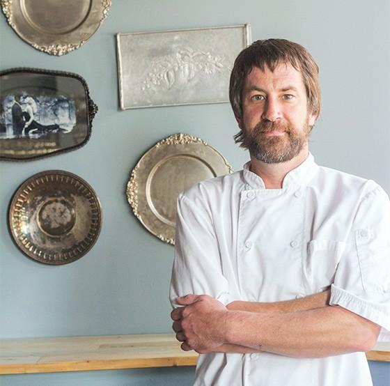 The Libertine's executive chef Matt Bessler. | Mabel Suen