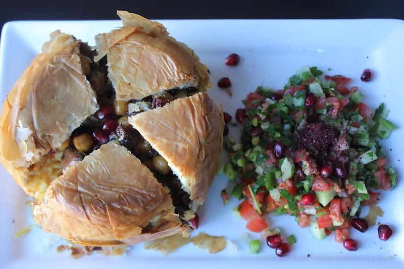 "Sultan Mediterranean Cuisine will offer Kurdish specialties, including the ""Sultan Pilau."" - SARAH FENSKE"