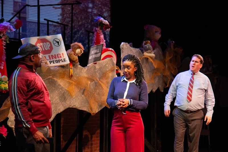 The Black Rep opens 2019 with its new play about what happened in Ferguson after the killing of Michael Brown. - PETER SPACK