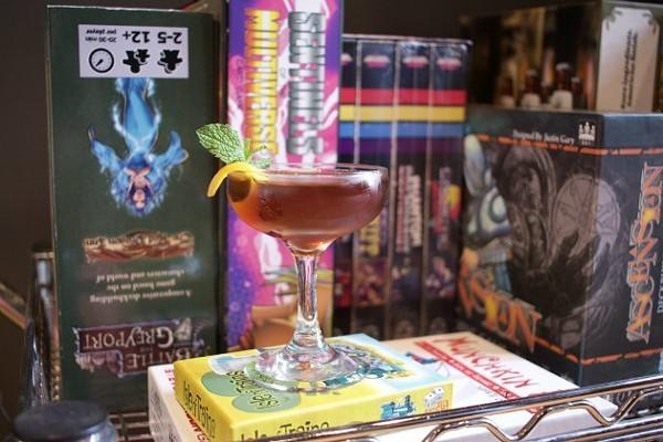 Earthbound Satellite was a cocktail bar inside a game shop. - CHERYL BAEHR