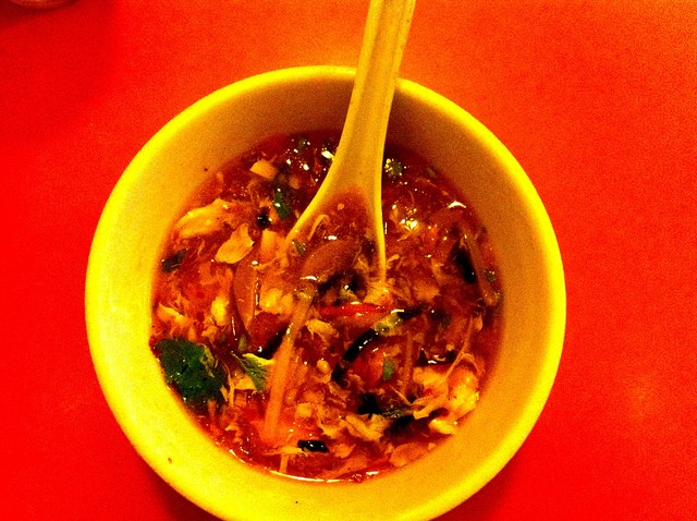 The hot and sour soup at Chinese Noodle Cafe fed the Loop for seventeen years. - FLICKR/STEPHEN BOLEN